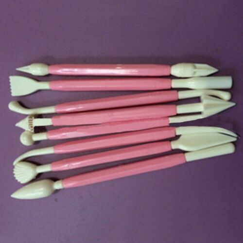 8pcs Clay Sculpting Set Carving Pottery Tools Shapers Polymer Modeling New