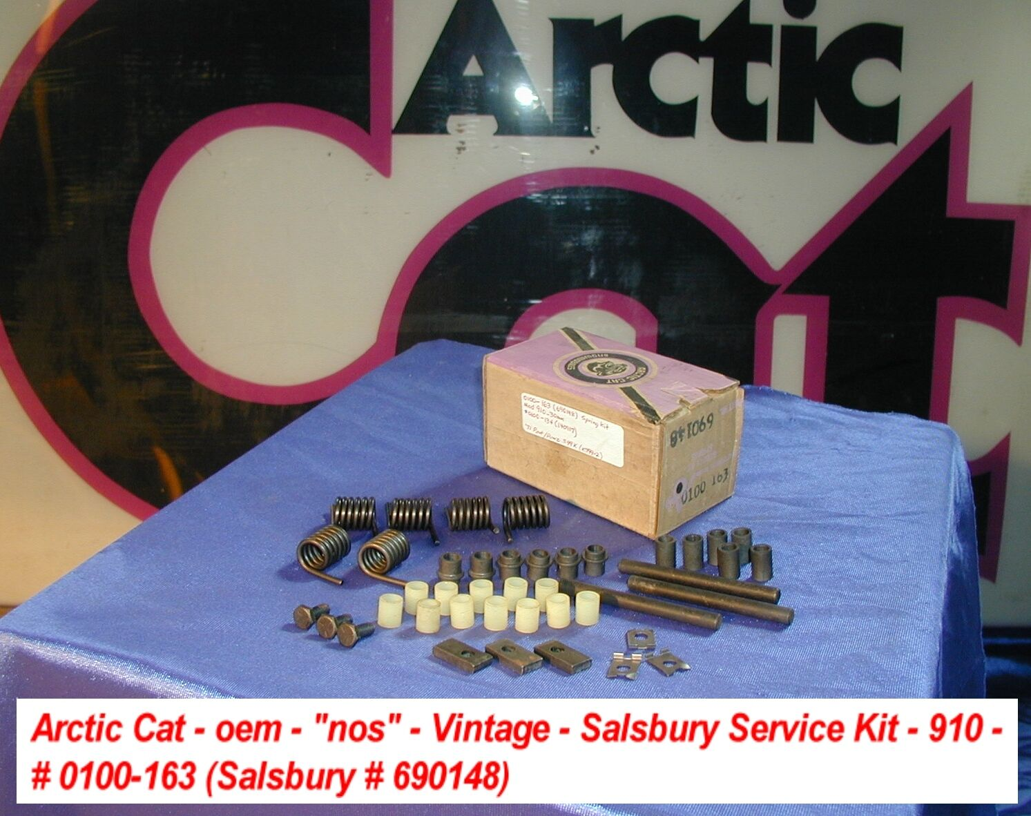 Arctic Cat Salsbury 910 Service Kit Springs  Pins Bushings 690148  free delivery