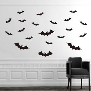 Image Is Loading Halloween Removable Hotel Transylvania Bat Custom Home  Decorative