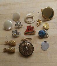 VINTAGE 14pc costume jewelery lot assorted