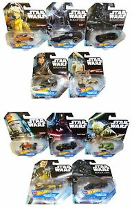 Hot-Wheels-Disney-Star-Wars-Modell-Auto-Set-5er-Pack-Darth-Vader-Chobber-Yoda