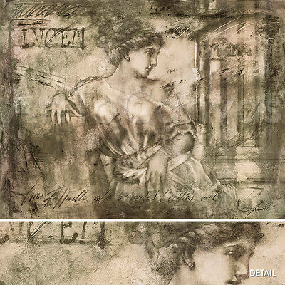 """30W""""x24H"""" NYDIA by RICHARD FRANKLIN - ROMAN MICHELANGELO-STYLE MUSEUM CANVAS"""