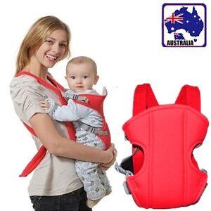 Baby Infant Sling Backpack Front Multi Position Ventilated