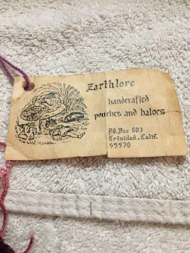 Earthlore mano 70 Bolso Ca a tiene los de hecho original años trinidad etiqueta vintage en ttqSAwxz