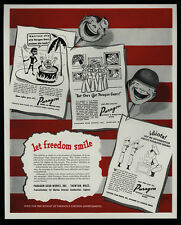 1944 PARAGON Gears - Nazi - Native Boils Jap - Nude Pin Up Girls VINTAGE AD