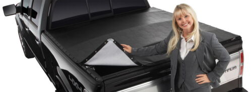 Extang 2485 BlackMax Black Tonneau Cover Fits 2015 2016 Ford F-150 8/' Bed SnapOn