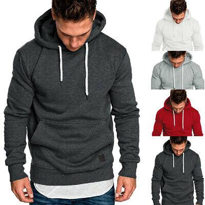 New Autumn Men/'s Winter Slim Hoodie Warm Sweatshirt Coat Jacket Outwear Sweater