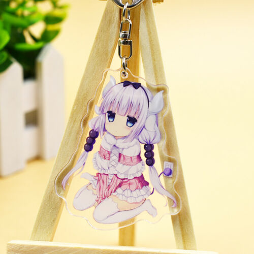 Miss Kobayshi/'s Dragon Maid Kanna Tohru Key Chain Key Buckle Key Ring Pendant