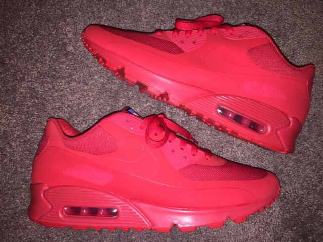 fa9342fa 2013 Nike Air Max 90 HYP QS Hyperfuse USA Independence Day Red ...