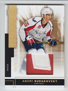 2014-15-UD-PREMIER-ANDRE-BURAKOVSKY-RC-PATCH-9-25-GOLD-ROOKIE-Capitals-Avalanche