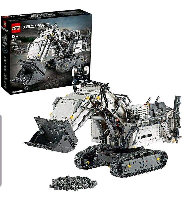 42100 Lego Technic Liebherr R 9800 excavadora Coleccionable Set 4108 piezas 12+ años