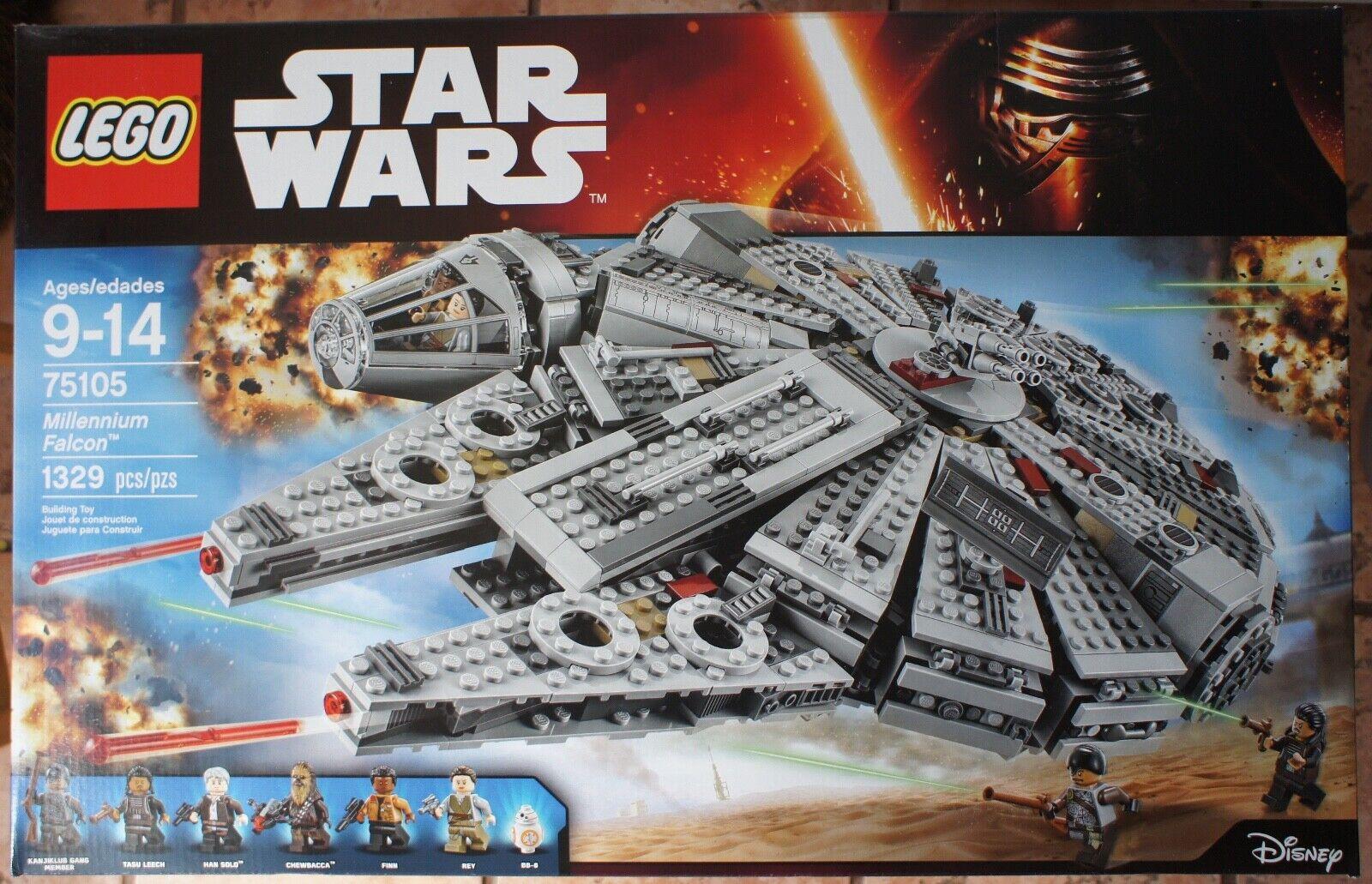 Lego Star Wars 75105 Millennium Falcon  -   Brand nouveau  Découvrez le moins cher