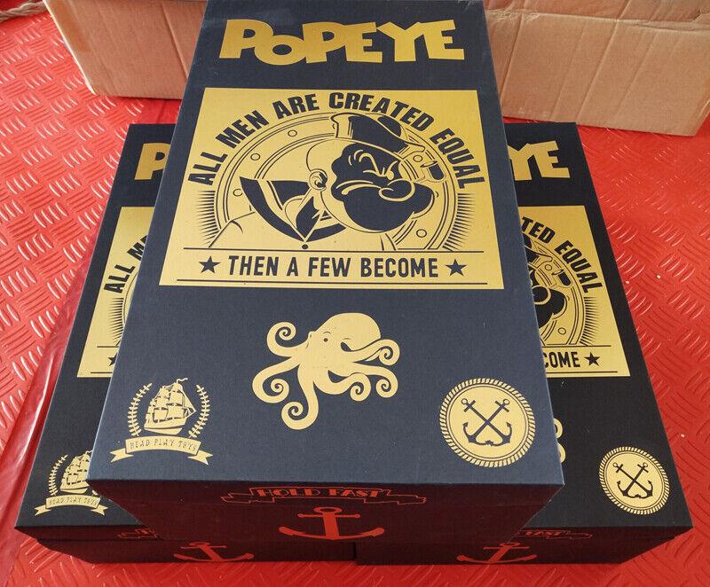 Art Box 1 6 Headplay 12  Popeye the Sailor Man Resin Statue Figure TATTOO BODY