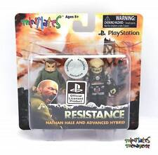 Sony Playstation Minimates Toys R Us Resistance Nathan Hale & Advanced Hybrid