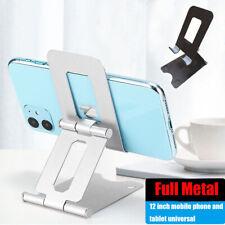 Universal Folding Adjustable Cell Phone Tablet Desk Stand Holder Desktop Cradle