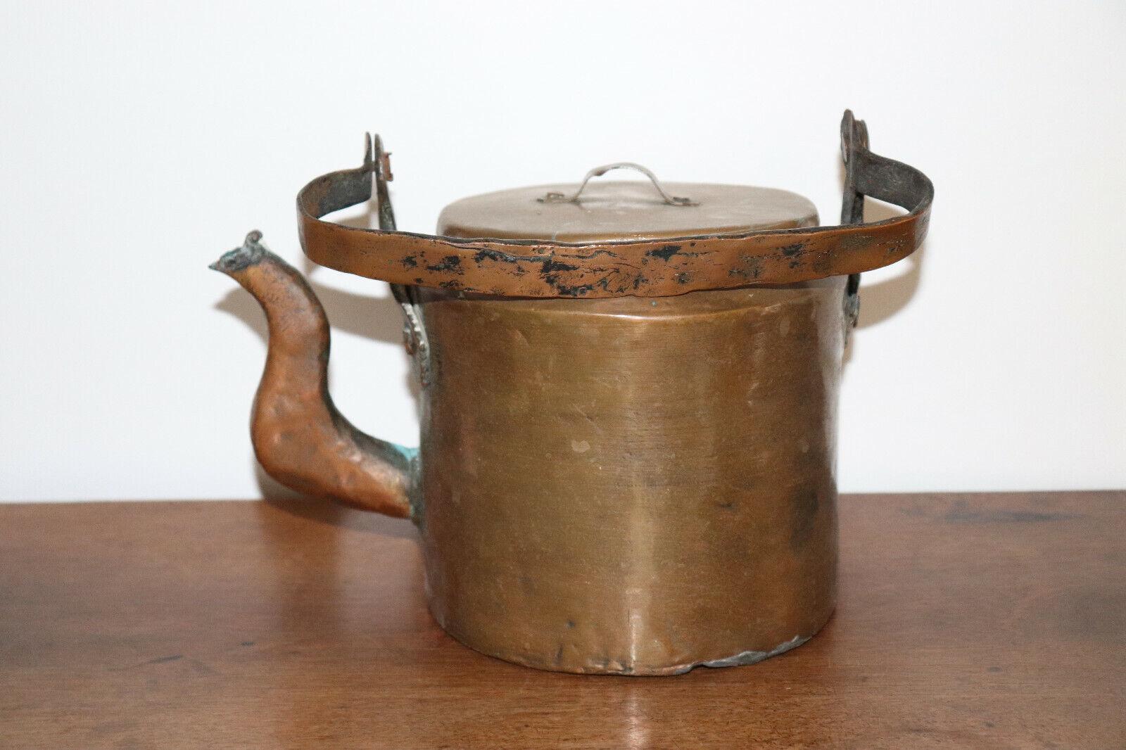 Immagine 1 - Caffettiera-IN-Rame-Ancien-19esimo-Antico-Rame