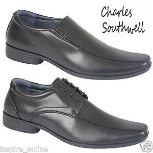 Smart-pour-Homme-en-cuir-synthetique-Chaussures-Formel-Bureau-Decontracte-Fete-de-mariage-chaussure