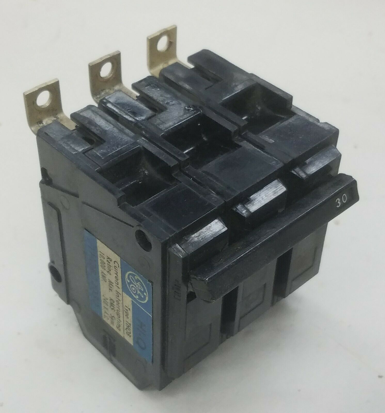 General Electric THQB32030 3 Pole Circuit Breaker 30a 240v for sale online
