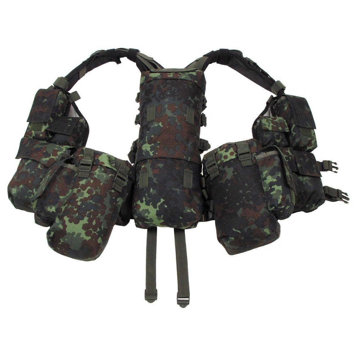 BW Ejército Alemán Flectarn Camuflaje Patrón Chaleco de combate de batalla táctica militar-Nuevo