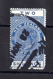 New-Zealand-1915-2-Official-Stamp-Duty-Fine-Used-X6301