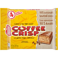 Nestle Coffee Crisp Chocolate Bars 12 Pack Imported From