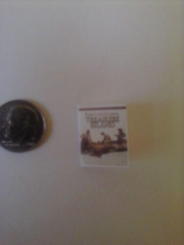 Treasure Island dollhouse  miniature book