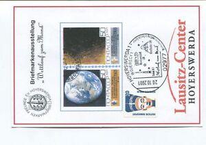DéLicieux 2001 Briefmarkenausstellung Wettlanf Zum Mons Lausitz Center Hoyerswerda Space