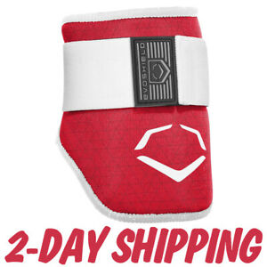 EvoShield-EVOCHARGE-MLB-Baseball-Batter-039-s-Elbow-Guard-Adult-Red-gt-2-DAY-SHIP-lt