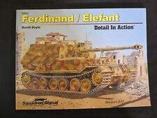 Squadron Book: Ferdinand / Elefant Detail in - Color Profiles, BW Photos