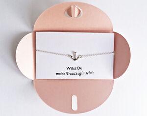 2x dama de honor regalo:? quieres mi dama de honor ser, anclajes brazalete de plata  </span>