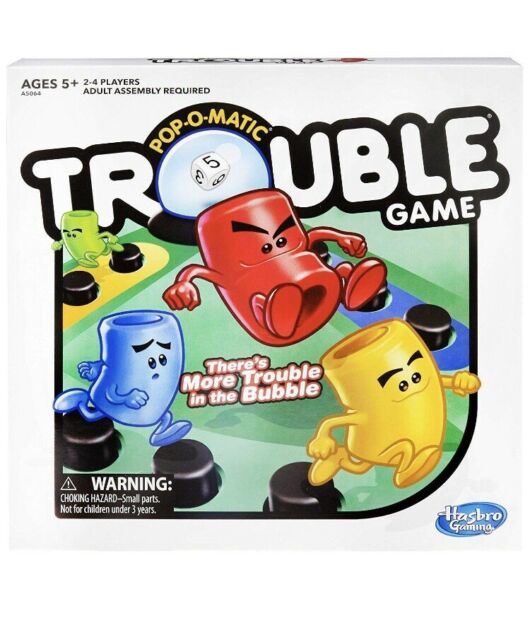Trouble Game by Hasbro Original Toy Gift