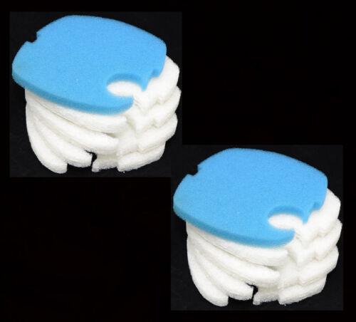 10PCS Aquarium Replacement Filter Pads for SUNSUN// GRECH// SUPER// HW-304B CF500
