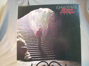 "John Denver Seasons Of The Heart RCA 12"" LP Vinyl Record 1982 Classic Album"