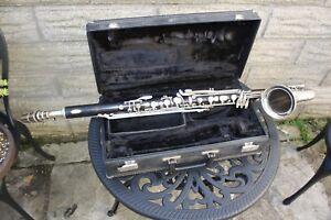 Noblet-Leblanc-Eb-Alto-clarinette-vintage-annees-1960-Orig-M-P-amp-Case-video-de-demonstration-ci