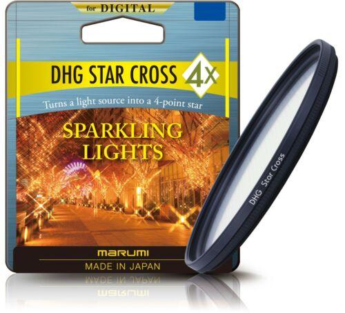 DHG 40 STAR Marumi Digital Alta Calidad Estrella Cruz 4x Cámara Filtro 40.5mm