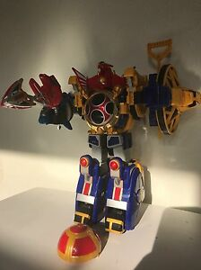 Power Rangers Ninja Storm Deluxe Power Megazord - <span itemprop='availableAtOrFrom'>Newton Abbot, Devon, United Kingdom</span> - Power Rangers Ninja Storm Deluxe Power Megazord - Newton Abbot, Devon, United Kingdom