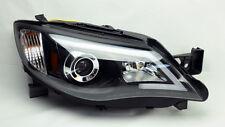 Black Projector LED DRL Light Bar Headlights FITS Subaru Impreza Outback WRX 08+