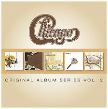 Chicago ORIGINAL ALBUM SERIES VOL 2 Color My World IX GREATEST HITS New 5 CD