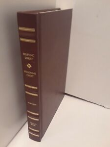 Believing Christ / Following Christ (Leather Bound Limited to 1800) COMBINED