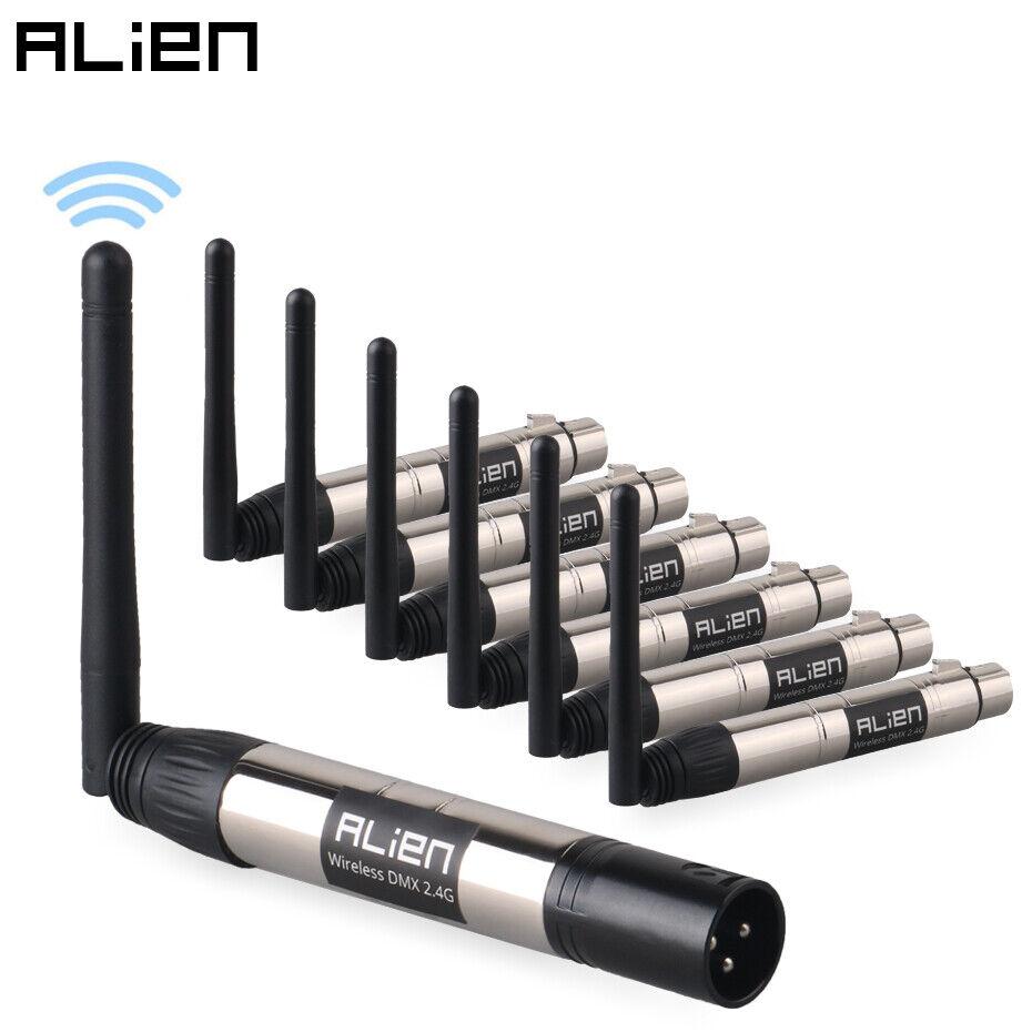 ALIEN Wireless 2.4G Transmitter Receiver for DMX Lighting Control