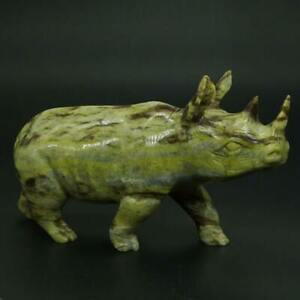 Rhinoceros-Figurine-Natural-Lemon-Jade-Carved-Statue-Healing-Reiki-Decor-5-1-034