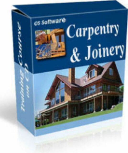 Learn Carpentry 4 Manual Training Course CD Woodwork Woodworking /& Joinery Book