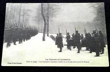 Carte photo 1914-1918 Lorraine Honneurs à un brave WW1 French soldiers postcard