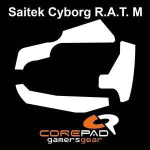 Corepad-Skatez-Saitek-Cyborg-R-A-T-M-Ersatz-Teflon-Mausfuesse-Hyperglides