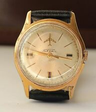 PAKETA 2627.H Automatic Rare Vintage Soviet Watch 29j, Day/Date /Serviced