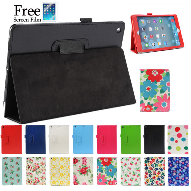 2 Fold Flower Smart Cover Case for Apple iPad 4 3 2 iPad mini iPad Air iPad Pro