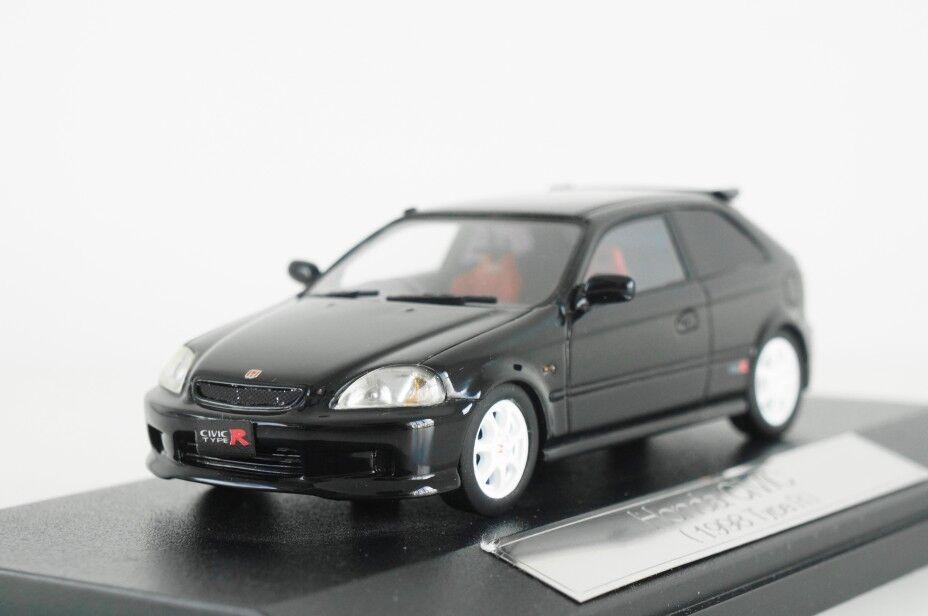 productos creativos Historia de alta Hecho Hecho Hecho a Mano 1 43 1998 Honda Civic Tipo R EK9-Negro Perla Estrellalight  suministramos lo mejor