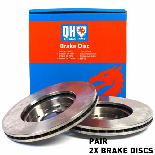 For BMW 7 730 728 735 1994-2001 Front Axle Internally Vented QH Brake Disc Pair