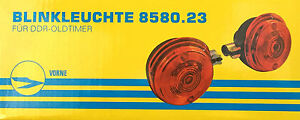 Paire-Lumieres-clignotantes-avant-rond-8580-23-Emission-de-lumiere-Orange