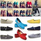 2016 Fashion TOM Unisex Women Men Classics Canvas Slip-On Shoes Flats shoes